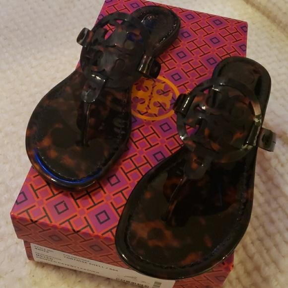c9a125a7f09 Tortoise shell Miller sandals. M 5c316cad0cb5aaed9d5698f8
